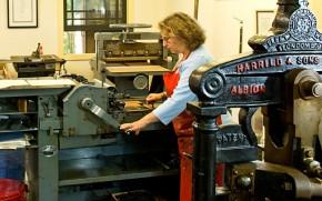 Sue Abbe Kaplan - The Printer