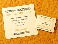My Announcement and Business Card