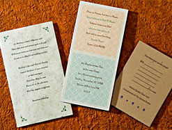 Two Invitations and a Keepsake